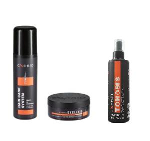 1 Exesio Hair Shampoo 280 ml + 1 Exelixis Hair Mask + 1 Exesio leave-in tonosis